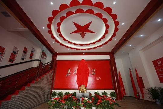 传承红色基因,华声红色教育学院今日揭牌
