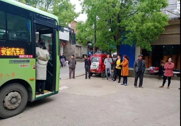 临澧新能源公交车提升群众获得感