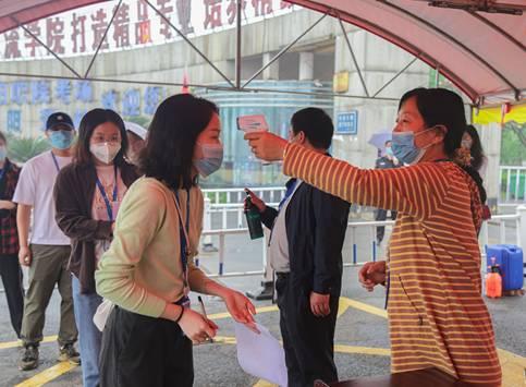 益阳职院组织教职工开展开学疫情防控应急演练