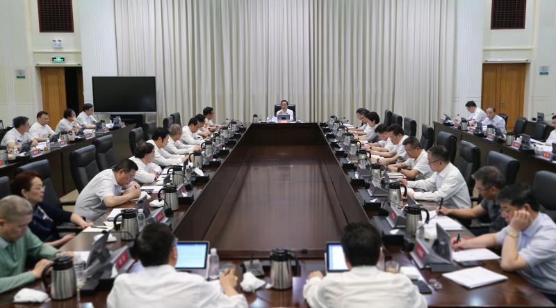 湖南省政府召开会议研究抓落实工作 许达哲出席并讲话