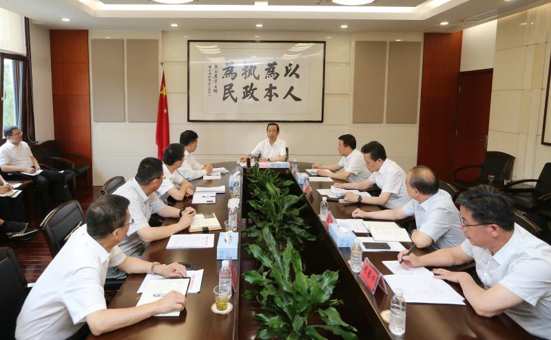 湖南专题研究部署进一步强化铁路安全工作 许达哲出席会议并讲话