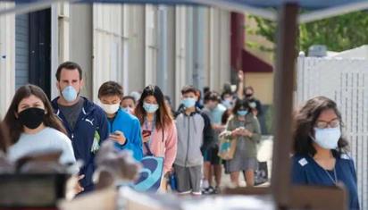 美国多地疫情停更、强行复工