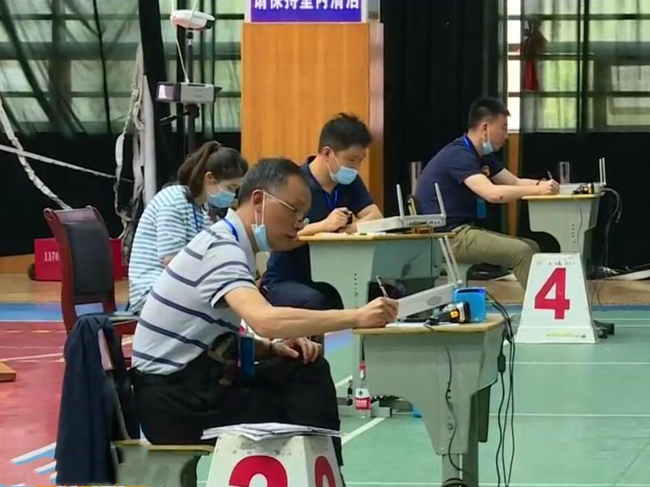 长沙体艺人才基地举行选拔考试