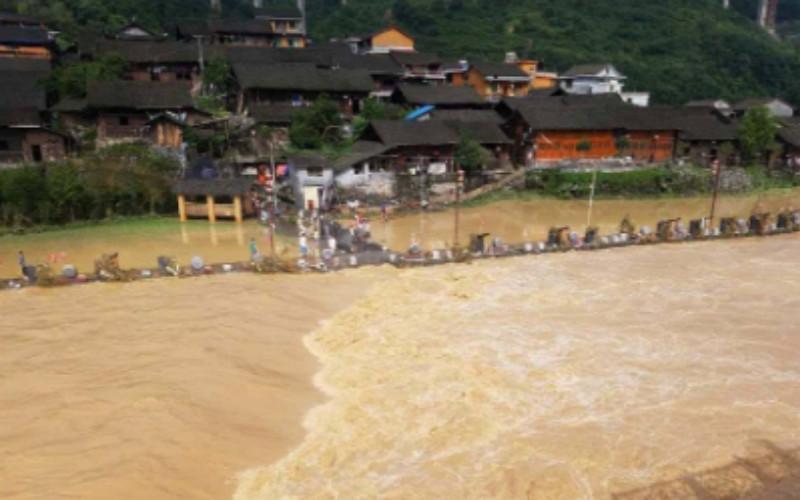 今天第三个!湖南发布山洪灾害预警