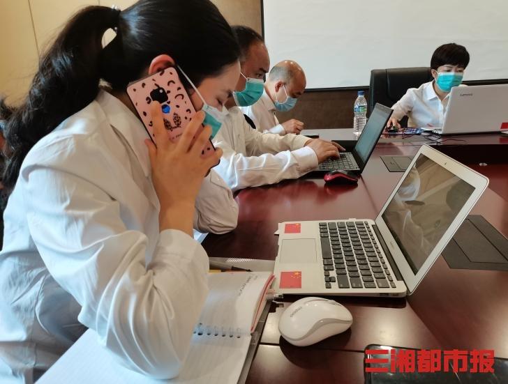 援非抗疫日记|手机成热线,赤几华人华侨和我们通话了