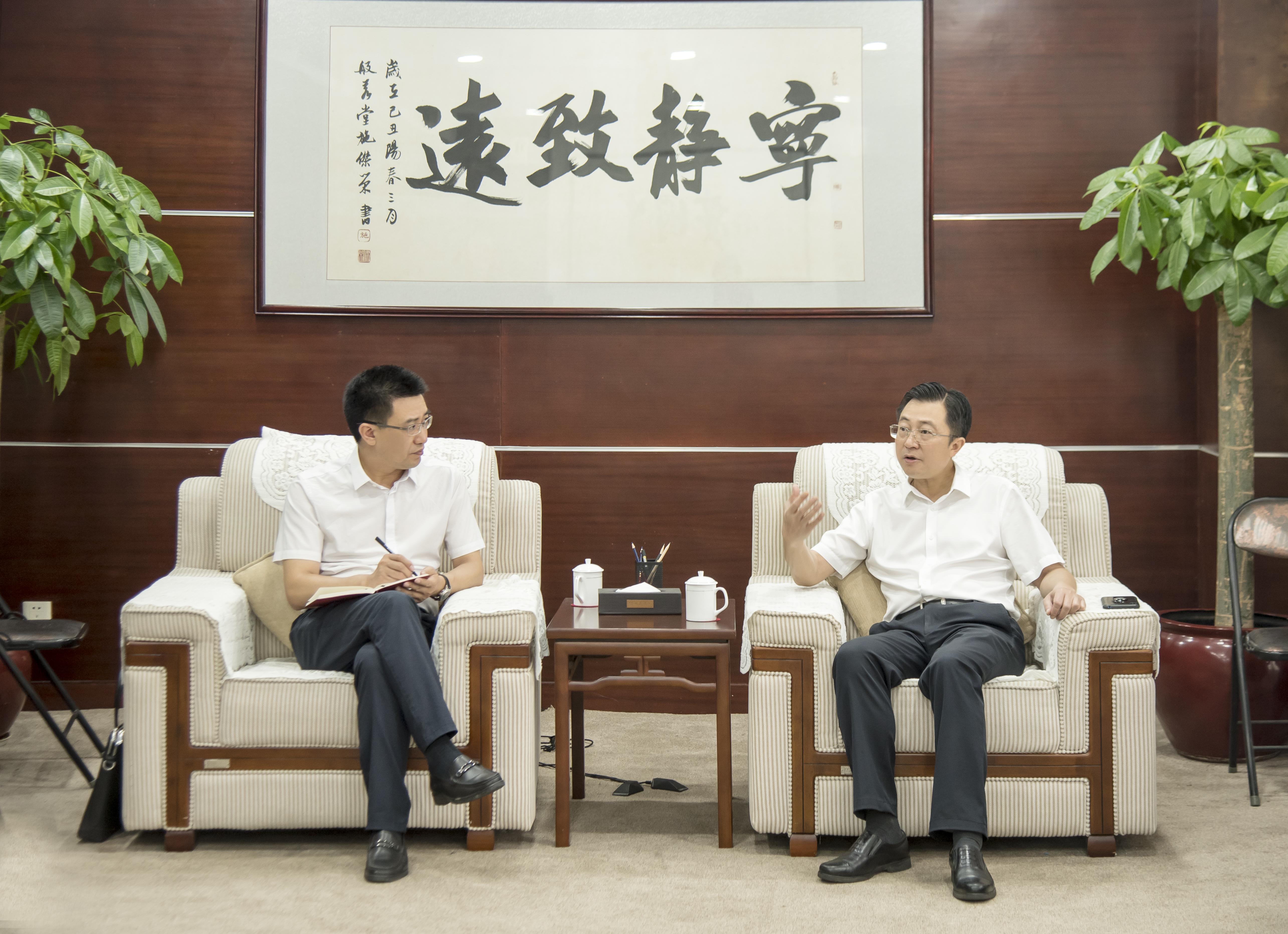 勇抓机遇开新局 ——专访湖南建工集团党委书记、董事长蔡典维