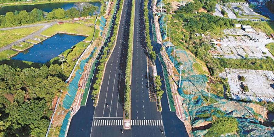 长沙市营盘路三期主体工程完工