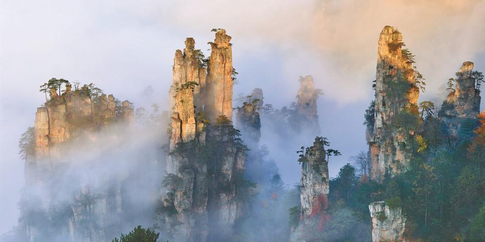 【锦绣潇湘·十大文旅地标】张家界武陵源:流动的画卷