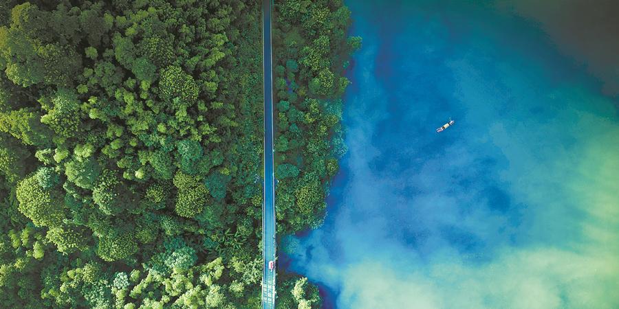 【锦绣潇湘·十大文旅地标】 东江湖:让世界深呼吸