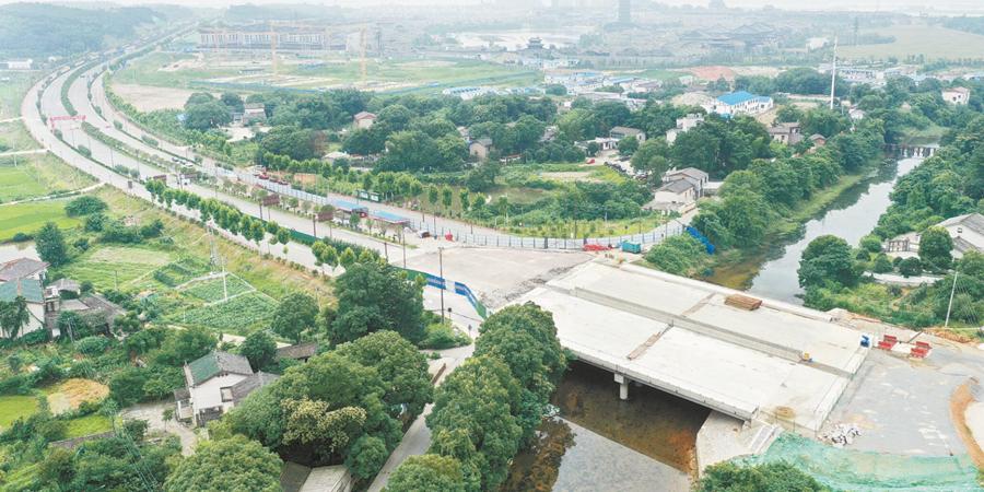 湘江大道跨越新河