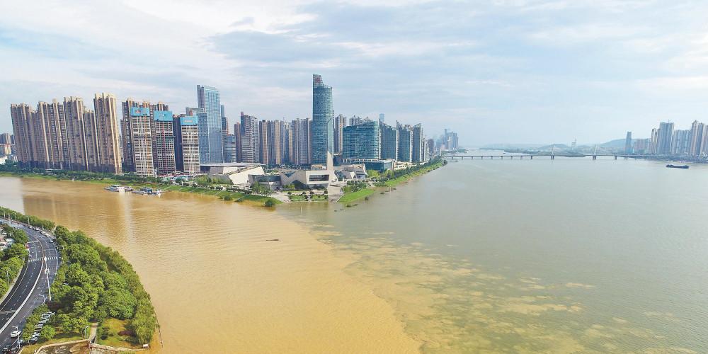 长沙境内河流水位普涨