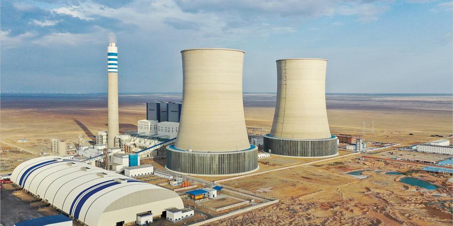 湖南火电承建的中煤红星电厂在新疆哈密全面投产