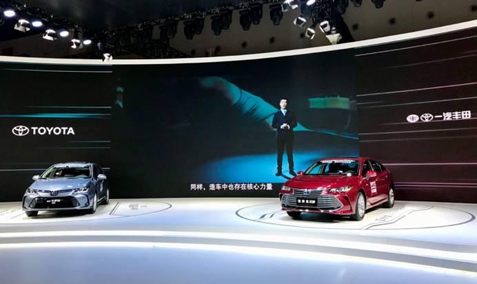 一汽丰田出击成都车展,上半年销量成绩斐然