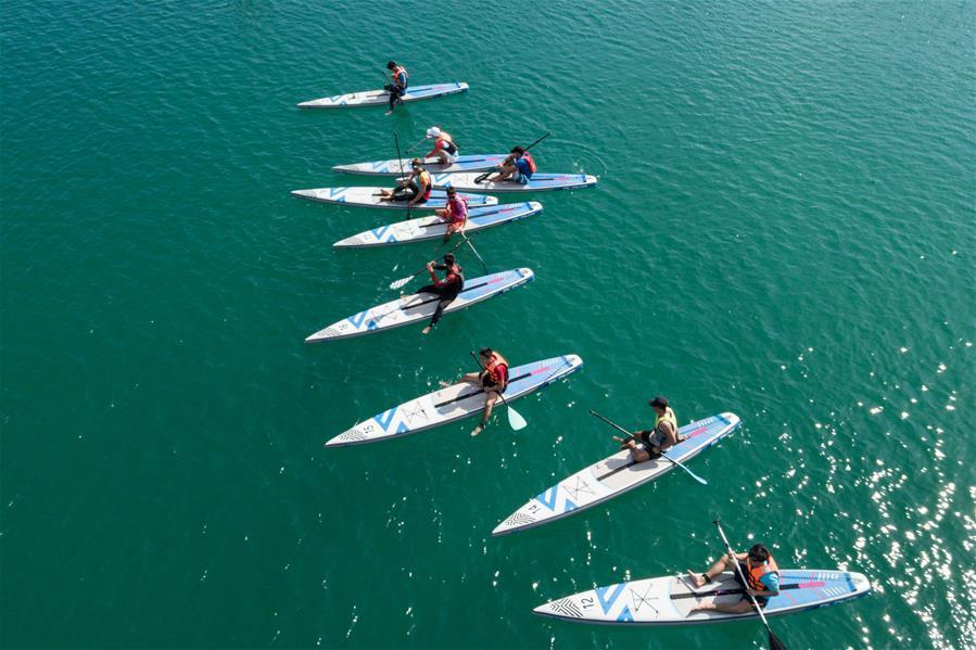 2020海南亲水运动季-海南SUP桨板公开赛圆满收关