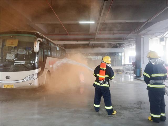 市民交通出行安全我们来守护  长沙消防开展公交系统消防标准化管理现场会