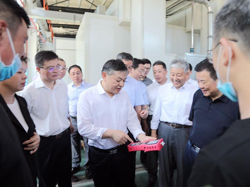 生态环境部部长黄润秋来湘调研臭氧污染防治工作