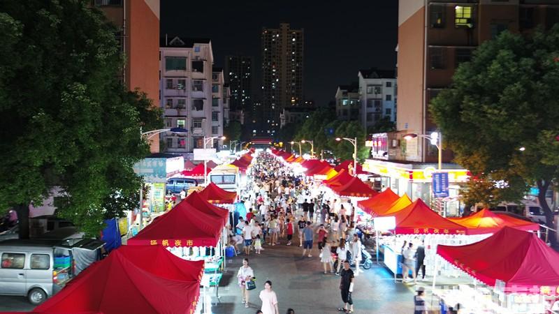 长沙夜市图鉴|扬帆小区:长沙最大的夜市,啥都有、最好逛