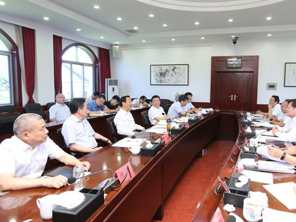 许达哲在省国资委调研:做实资本资产和收益 推动国企高质量发展