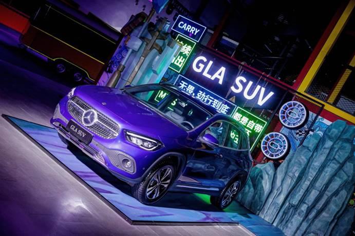 全新梅赛德斯-奔驰GLA SUV上市