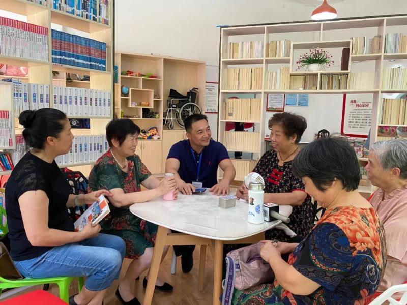 网格长发起成立共享惠民站,邻里间更亲了