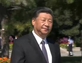 中共中央国务院中央军委举行座谈会 纪念抗战胜利75周年