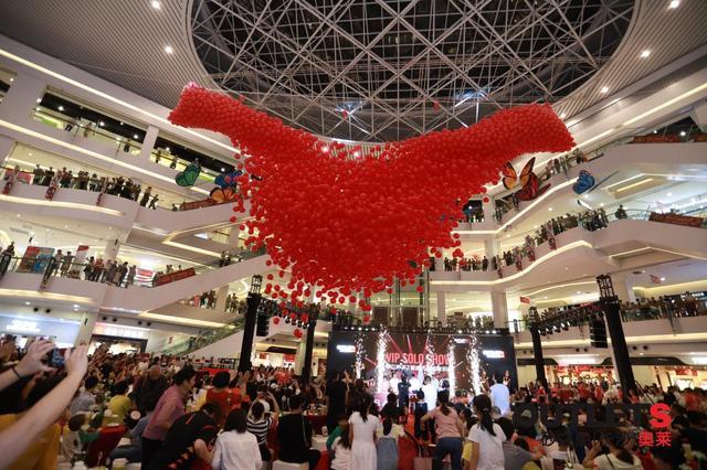 砂之船入湘2周年庆,掀起星城购物狂欢