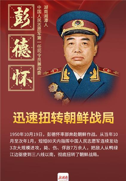 纪念抗美援朝70周年|看!五位司令员都是湖南人