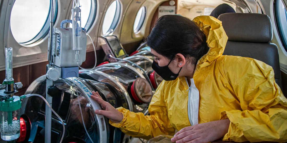 秘鲁:空中救护车