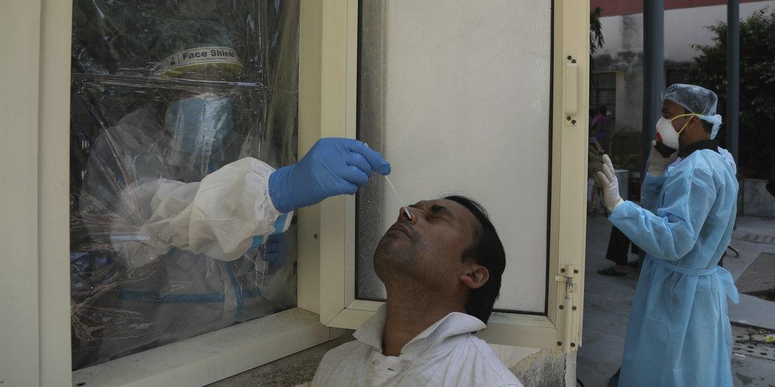 印度新冠确诊病例超600万