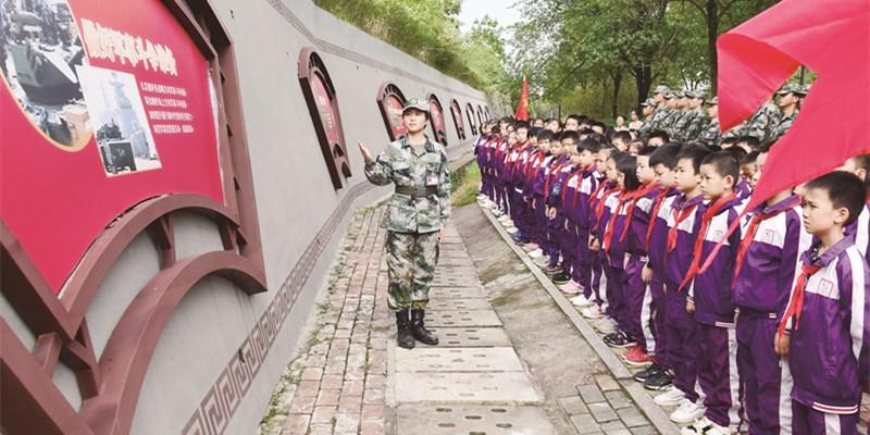 爱我祖国 壮我国防
