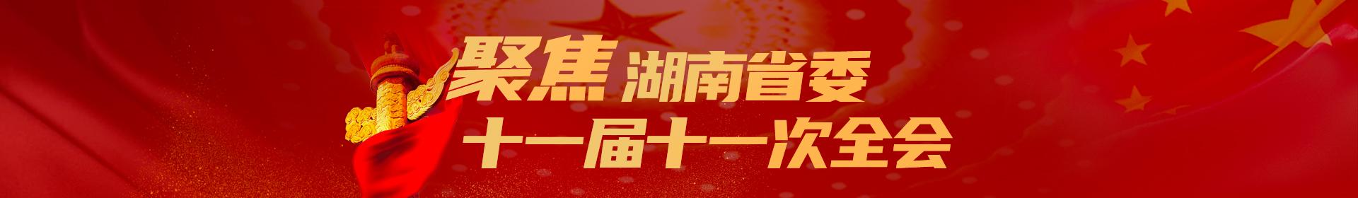 聚焦湖南省委十一届十一次全会