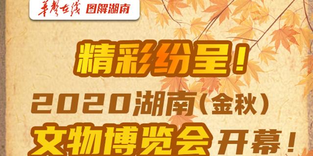【图解】精彩纷呈!2020湖南(金秋)文物博览会开幕!
