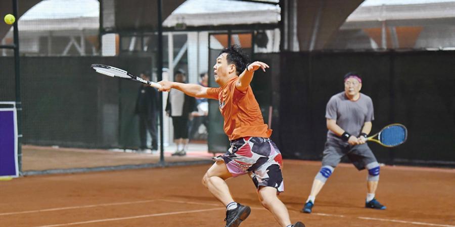 湘赣网球邀请赛长沙举行