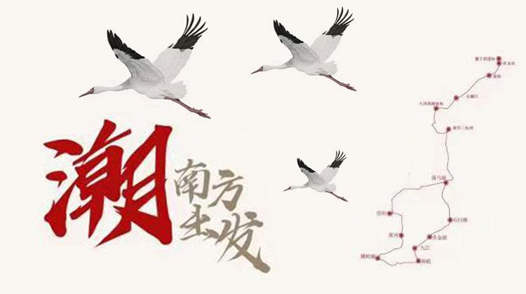 """""""潮""""洞庭长江出发——2020全球候鸟跟踪守护行动"""