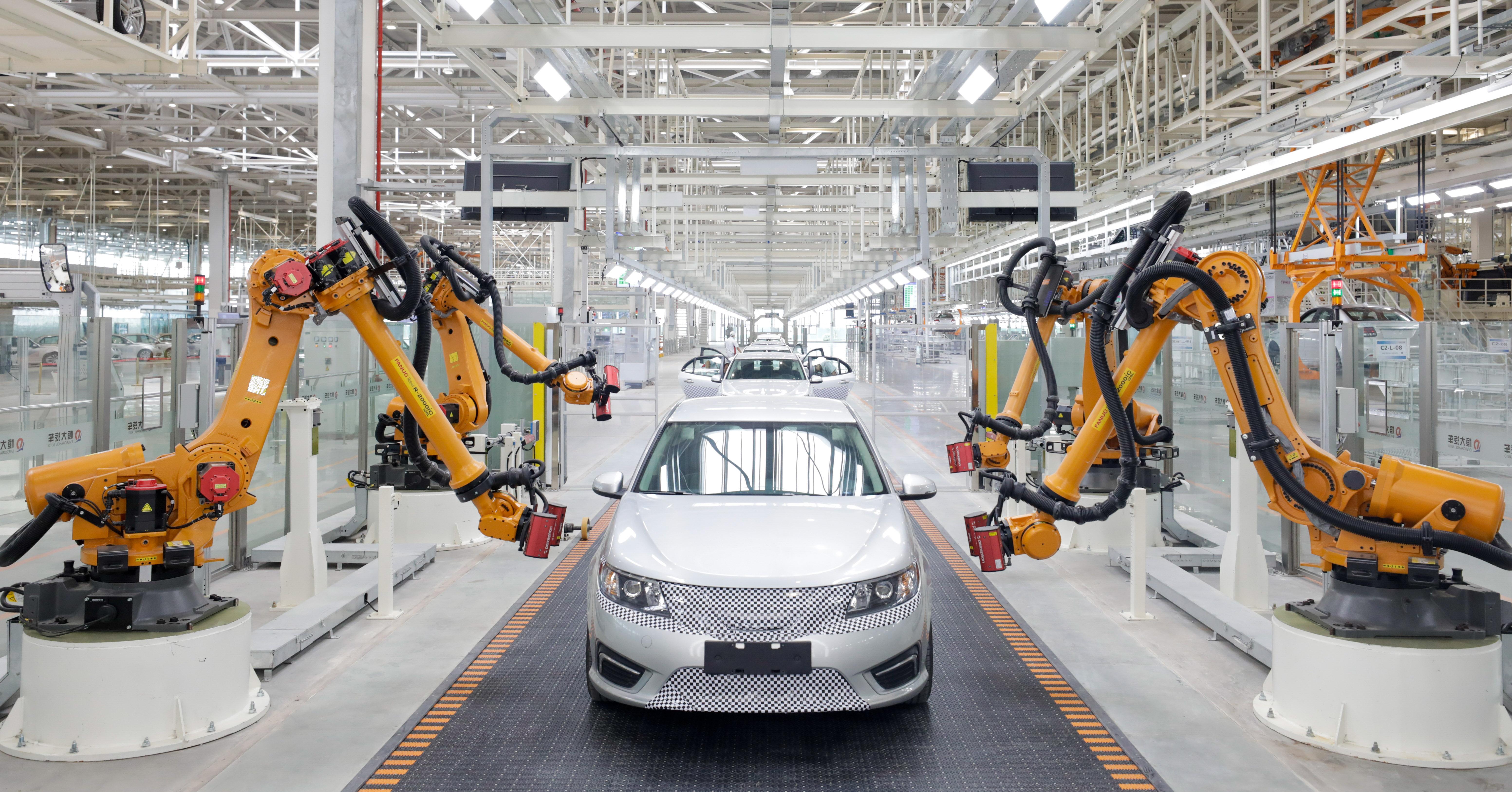 恒大造车提速:两大基地全面启动试生产