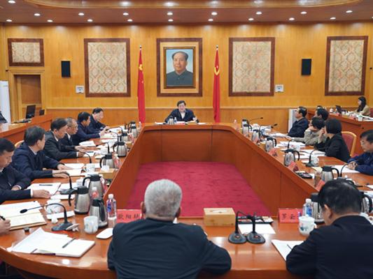中共湖南省委召开党外人士座谈会 杜家毫主持并讲话 许达哲出席