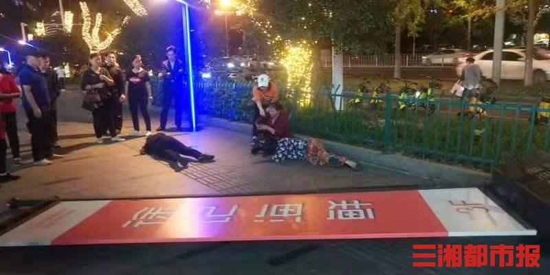 一天吹倒两块广告牌,伤人又损物!长沙城管:加强安全检查