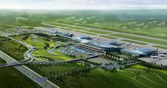 长沙黄花机场将建高铁,项目总投资约16.46亿元