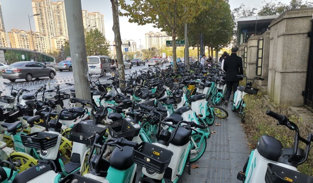 长沙集中约谈6家共享单车!三天内清退无牌照车辆
