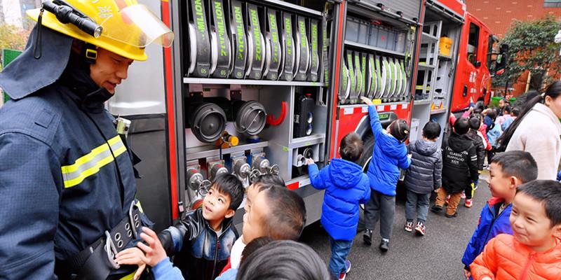 消防禁毒安全宣传进校园