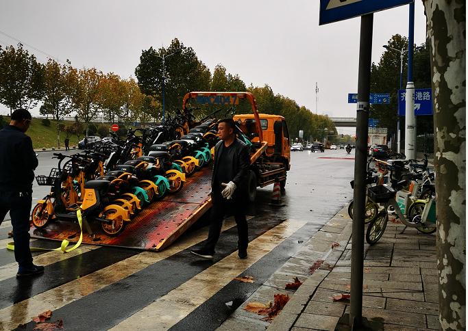 """已回收34万辆,长沙共享电单车今起迎来""""严监管"""""""