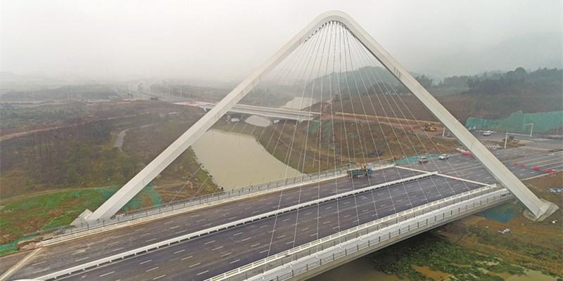 长沙梅溪湖片区新添便民桥