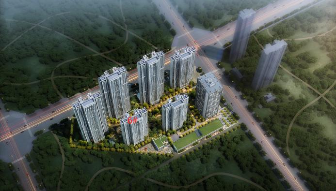 中国铁建·湘语梅溪|6#栋央景楼栋,敬献城市峰层人士