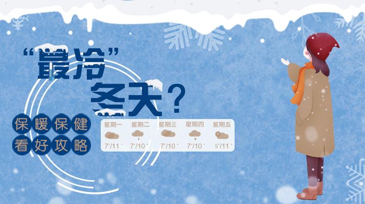 """""""最冷""""冬天?保暖保健看好攻略"""