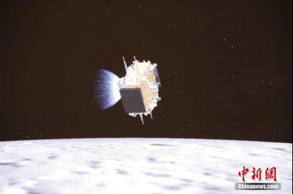 载土而归 嫦娥五号返回地球