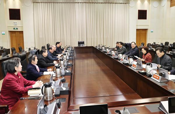 """省政府就""""十四五""""规划纲要征求省级老同志意见 毛伟明出席"""