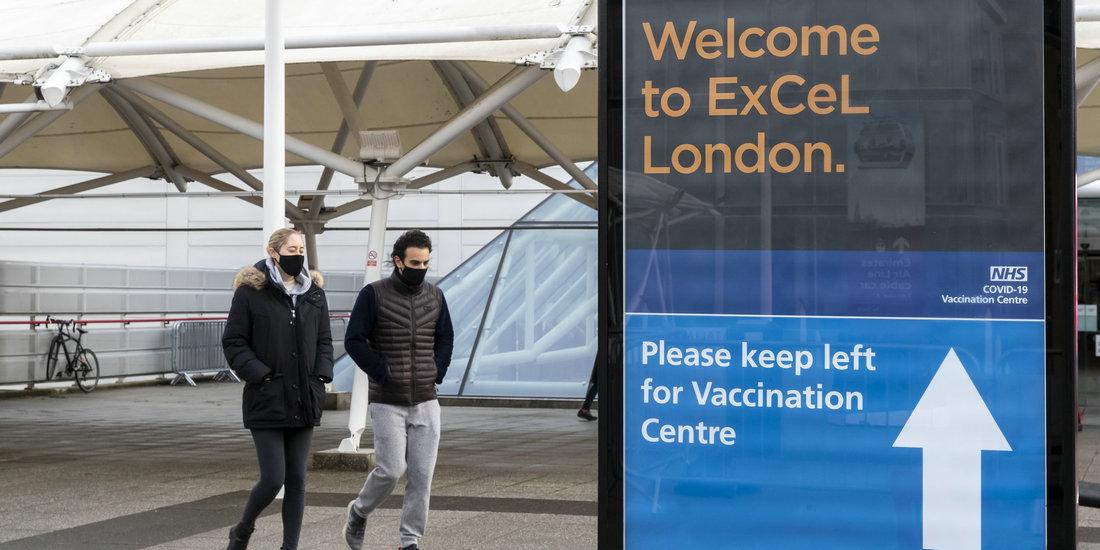疫情笼罩 英国发布新冠疫苗接种计划