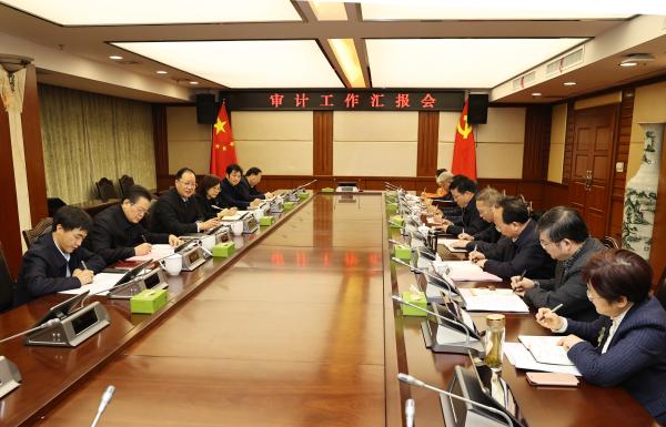 """毛伟明在省审计厅调研:在实施""""三高四新""""战略中更好发挥审计监督作用"""