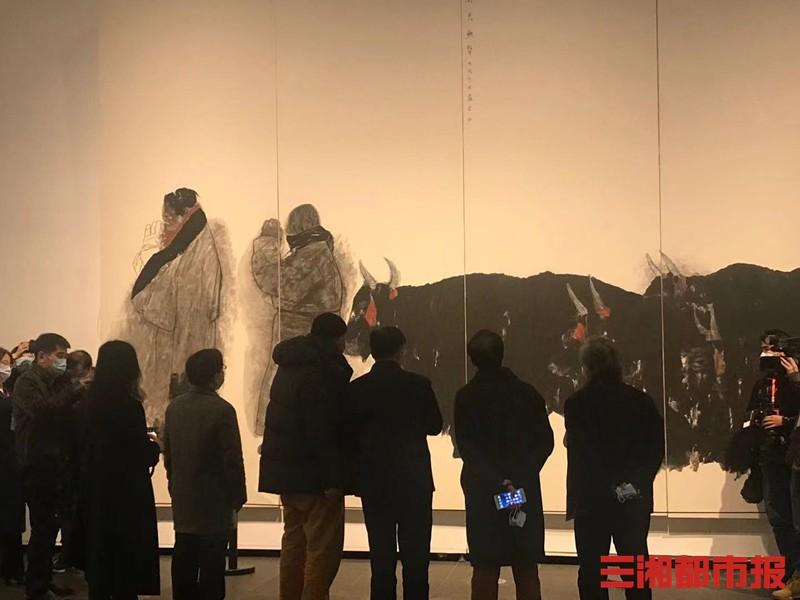 """第二届""""湖南•中国画双年展""""开展"""