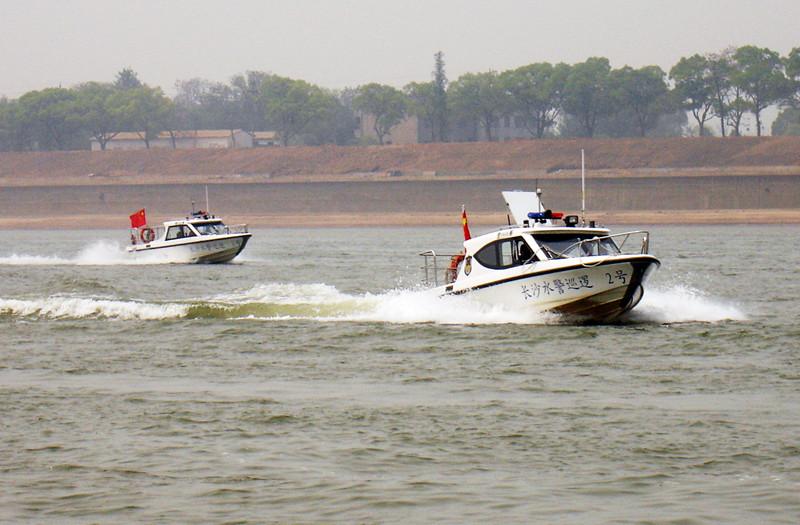 """长沙警方开展打击非法捕捞专项整治行动""""冬春攻势"""""""